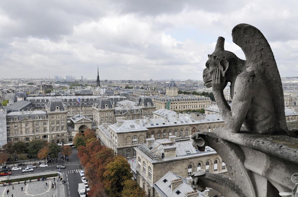 Gárgula de Notre Dame – Paris