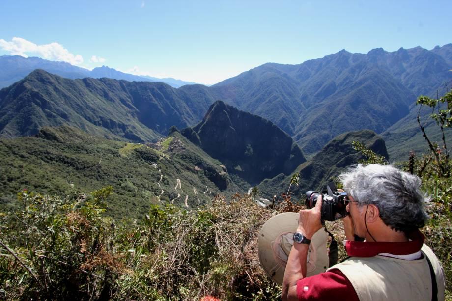 Novo ângulo de visão da cidade de Machu Picchu