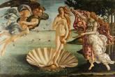 O Nascimento de Vênus Sandro Botticelli Florença Itália