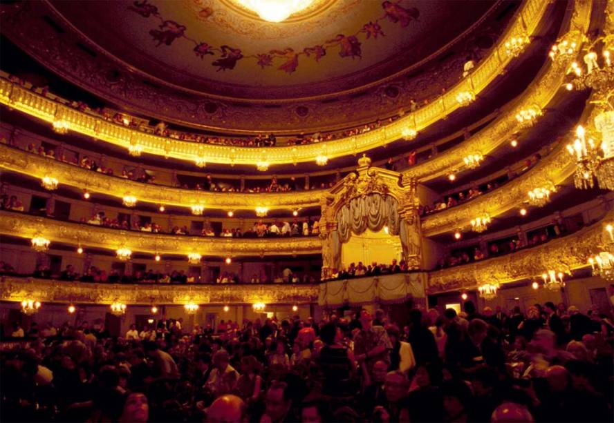 O Teatro Mariinsky, em São Petersburgo, eterno rival do Bolshoi