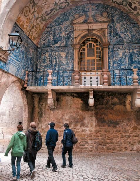 A entrada de <strong>Óbidos</strong>.Os primeiros registros da existência do lugar datam de 1148