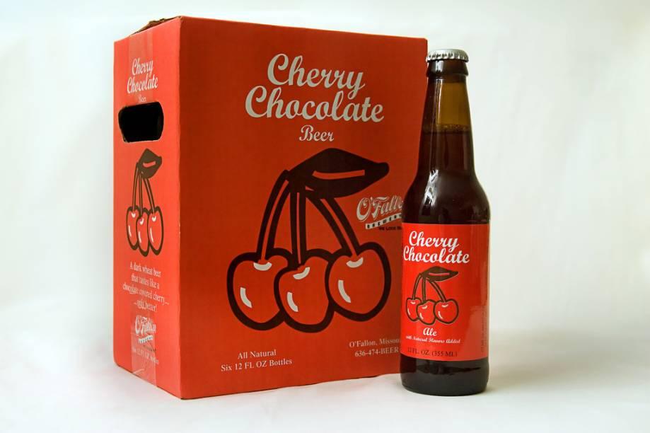 A <strong>Cherry Chocolate Beer</strong> é praticamente uma cerveja do time das sobremesas. Feita com cacau e cereja, é lançada apenas no inverno pela cervejaria americana OFallon