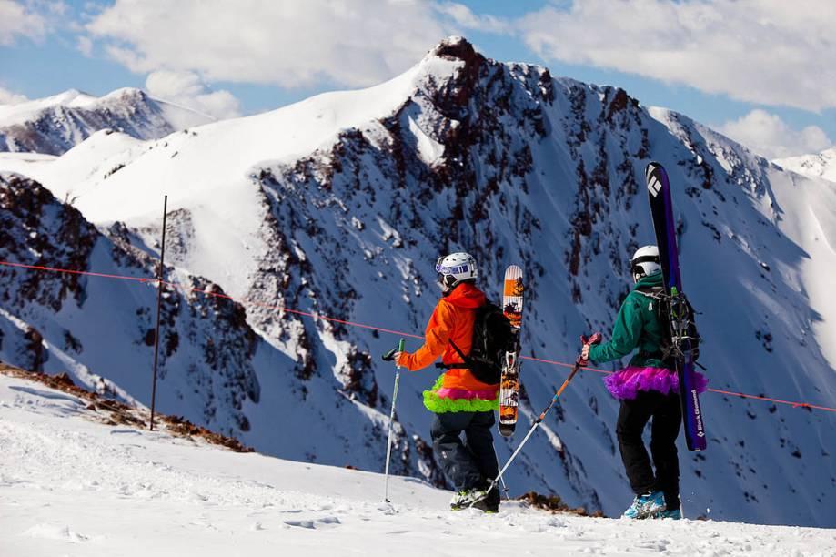 Off the track em Aspen-Snowmass - além do esqui, há opções de práticas de vários outros esportes radicais