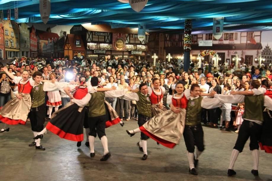 Show durante a Oktoberfest 2012