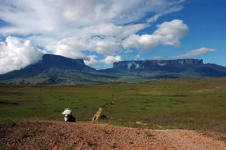 Montes Kukenan e Roraima, Brasil, Guiana e Venezuela