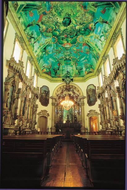 Igreja da Ordem Terceira de São Francisco, com teto pintado por mestre Ataíde