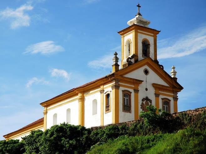 Igreja Nossa Senhora das Mercês e Misericórdia, um dos templos de Ouro Preto