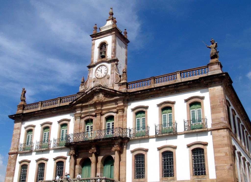Museu da Inconfidência, na Praça Tiradentes