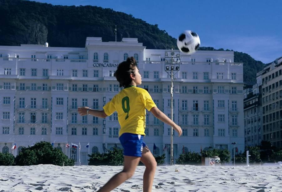 O Copacabana Palace é o hotel mais famoso do Rio de Janeiro