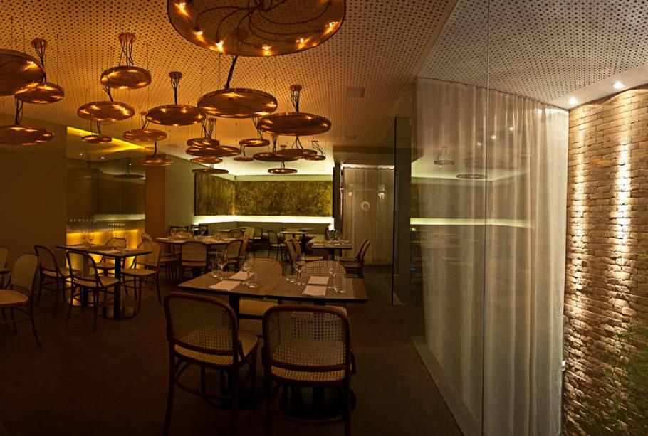 """Ambiente do segundo salão do restaurante <a href=""""http://viajeaqui.abril.com.br/estabelecimentos/br-rj-rio-de-janeiro-restaurante-oro"""" rel=""""Oro"""">Oro</a>, no <a href=""""http://viajeaqui.abril.com.br/cidades/br-rj-rio-de-janeiro"""" rel=""""Rio de Janeiro"""">Rio de Janeiro</a>"""