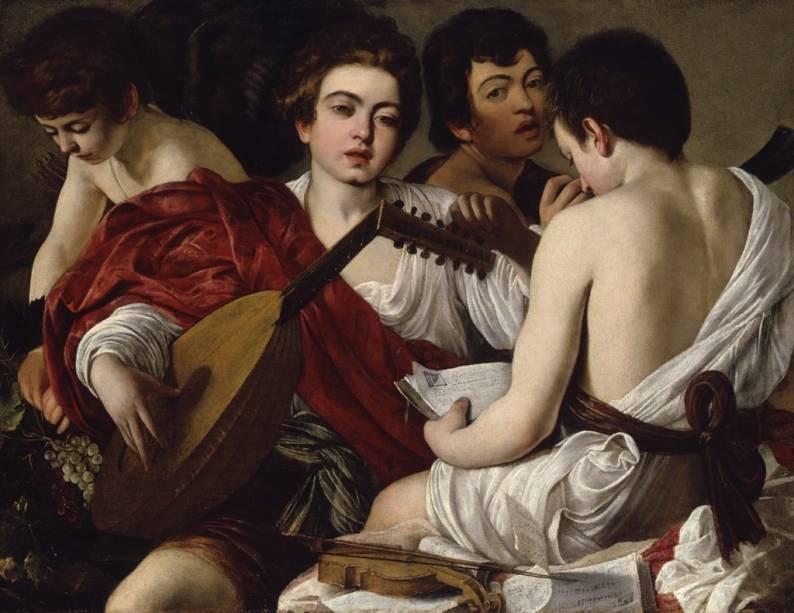 Os Músicos, de Caravaggio, um dos destaque da coleção italiana do Metropolitan