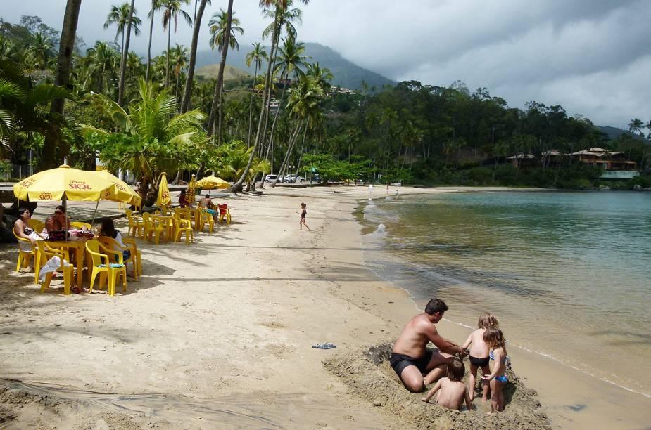 A Praia do Sino, ideal para levar crianças