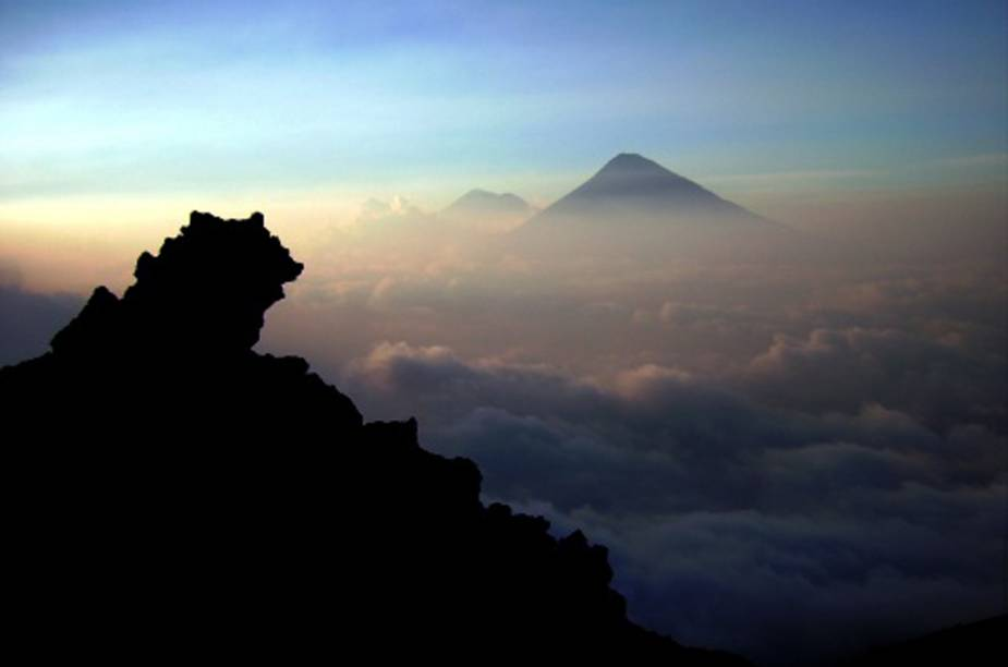 Cratera do vulcão Pacaya, Guatemala