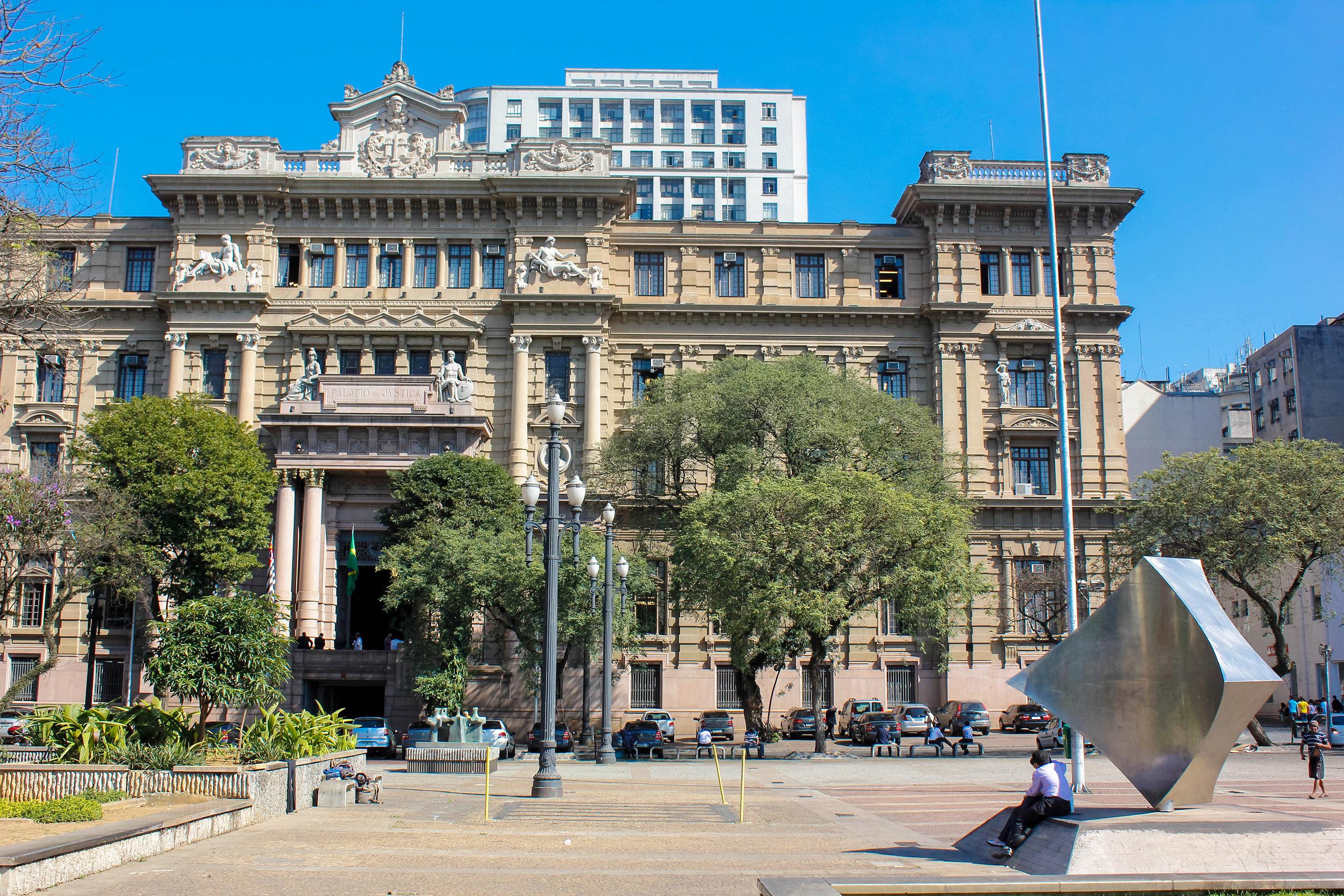 Palácio da Justiça, na Praça da Sé, em São Paulo (SP)