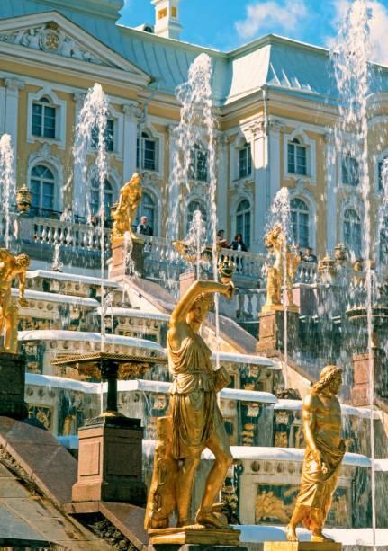 Palácio em Petrodvorets