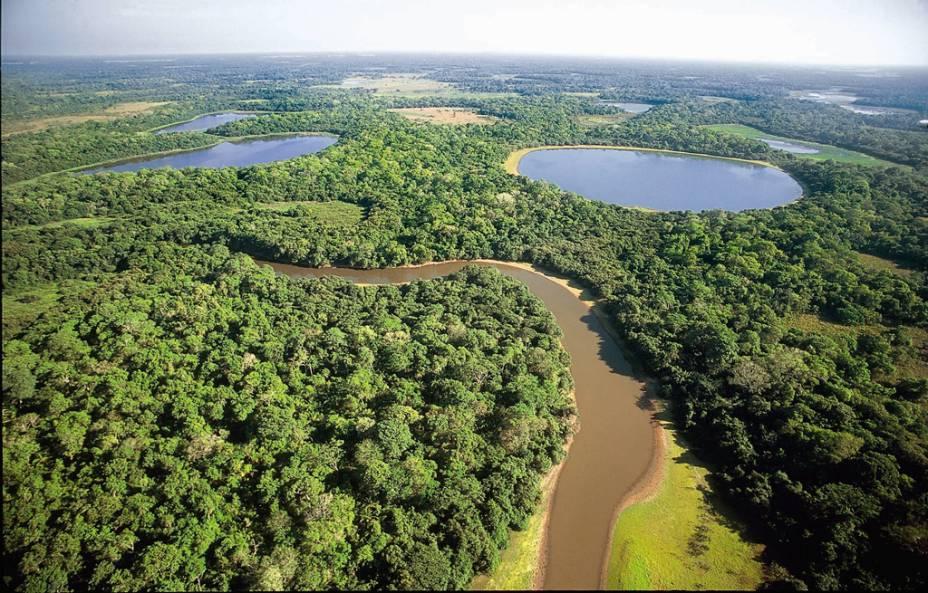 """O <strong><a href=""""http://viajeaqui.abril.com.br/cidades/br-mt-pantanal"""" rel=""""Pantanal"""" target=""""_self"""">Pantanal</a></strong> marca forte presença em regiões dos Estados do <a href=""""http://viajeaqui.abril.com.br/estados/br-mato-grosso"""" rel=""""Mato Grosso"""" target=""""_self"""">Mato Grosso</a> e no <a href=""""http://viajeaqui.abril.com.br/estados/br-mato-grosso-do-sul"""" rel=""""Mato Grosso do Sul"""" target=""""_self"""">Mato Grosso do Sul</a>. Considerado a maior planície alagável do mundo, tem cerca de 250 espécies de peixes, 80 de mamíferos, 50 de répteis e mais de 650 de aves. Por aqui, vale esquecer o medo e explorar o lugar como um verdadeiro peão!"""