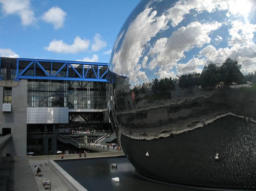 Geode da Cidade das Ciências e Indústria, em La Villette