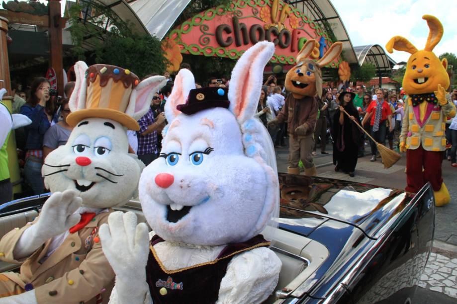 A Parada do Conde Guloseima promete animar a Chocofest, em Gramado
