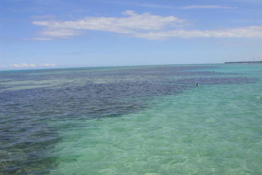 Passeio de catamarã em Paripueira, em Maceió