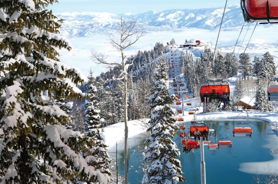 """<strong>10. <a href=""""/materias/park-city-os-perigos-e-atracoes-de-esquiar-na-regiao"""" rel=""""10. Park City, nos Estados Unidos"""" target=""""_blank"""">Park City, nos Estados Unidos</a></strong>    A cidade de Utah recebe o festival de Sundance. Os teleféricos sobrevoam o Orange Bubble Express e Canyons"""