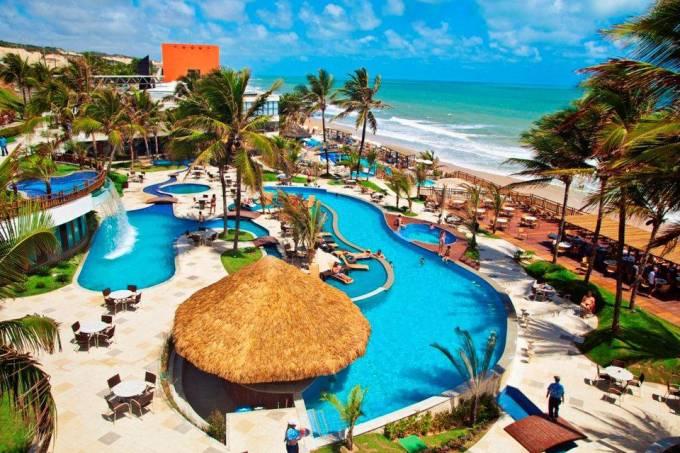 Parque Aquático do Ocean Palace Beach Resort & Bungalows, Natal, Rio Grande do Norte