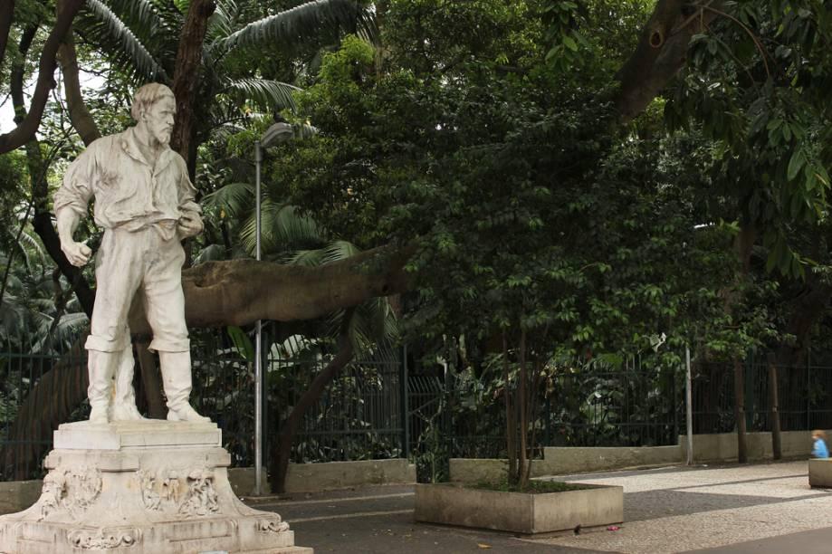 Parque Tenente Siqueira Campos, o Trianon, fica no meio da Avenida Paulista e é um refúgio para a confusão do trânsito e dos pedestres