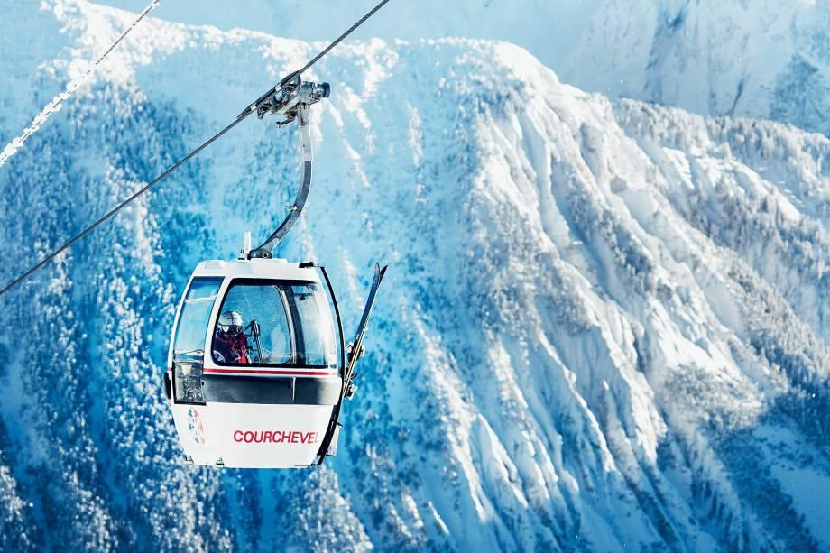 Gôndola para ir (afinal) esquiar