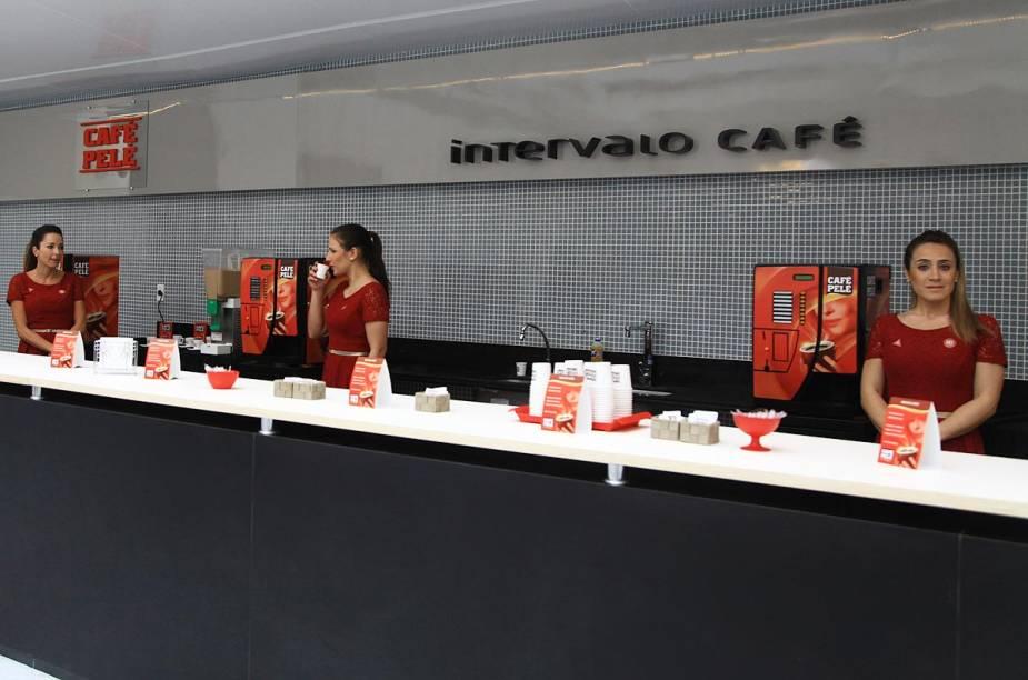Café do Museu, que funciona de terça a domingo, das 10h às 18h