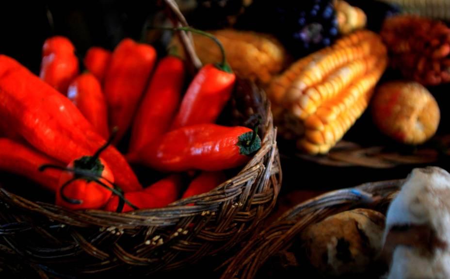 O rocoto (pimenta) é a base da culinária peruana. Há seis tipos, sendo o rojo (vermelho) um dos mais populares no uso diário