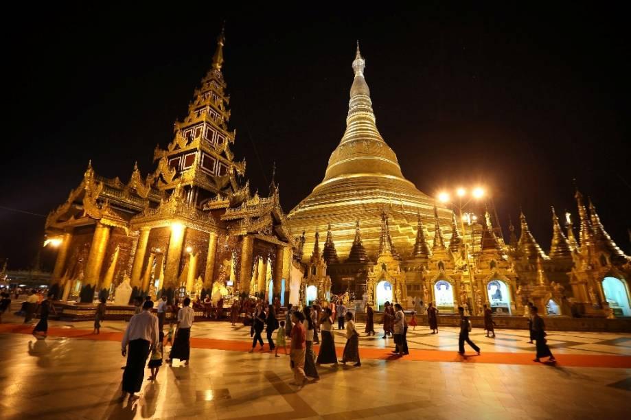 Shwedagon Paya, em Yangon