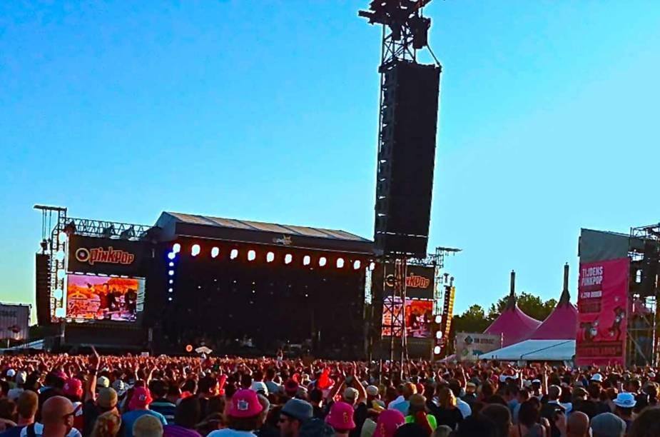 <strong>Pinkpop Festival, Landgraaf </strong>    Na edição de 2014, a 45ª do festival, estão entre as atrações principais: Rolling Stones, Arctic Monkeys, Metallica, John Mayer e Arcade Fire.