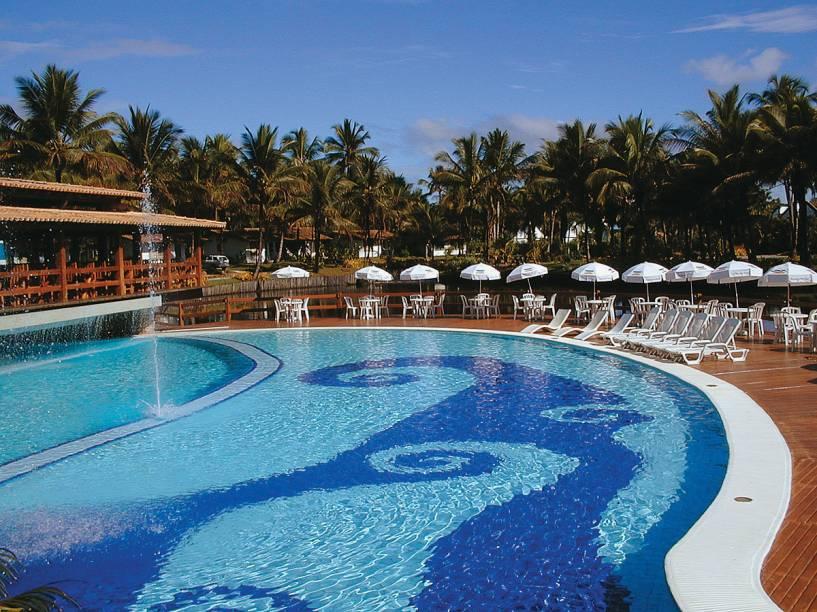 Piscina do Cana Brava Resort Hotel, em Ilhéus, Bahia