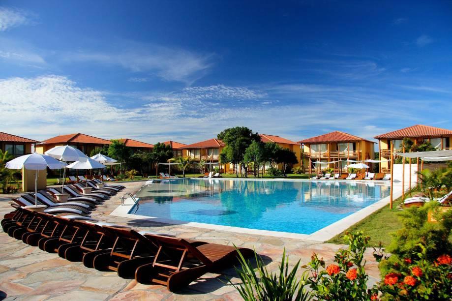 Piscina do La Torre Resort, na Praia do Mutá, Porto Seguro, Bahia