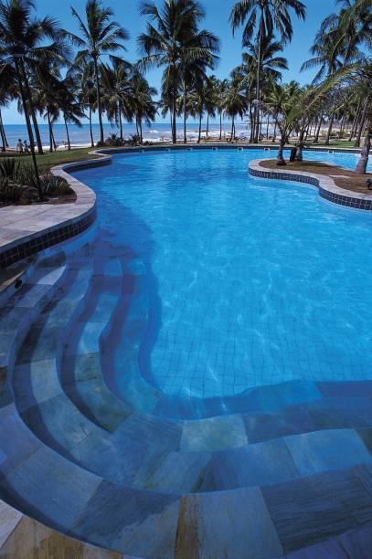 Piscina do Sauipe Premium, do complexo hoteleiro na Costa do Sauipe
