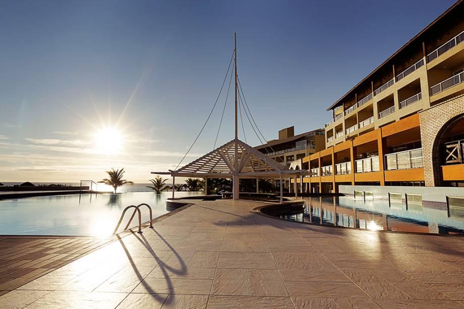 Piscina do Costão do Santinho Resort, em Florianópolis, Santa Catarina