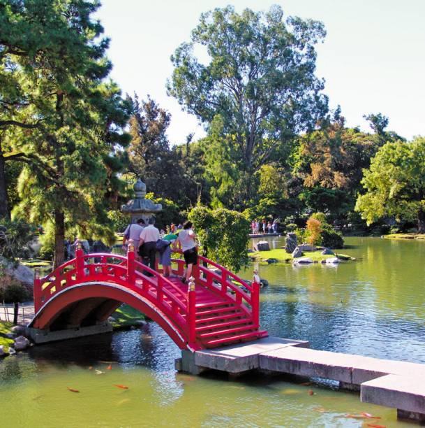Ponte do Jardín Japonés