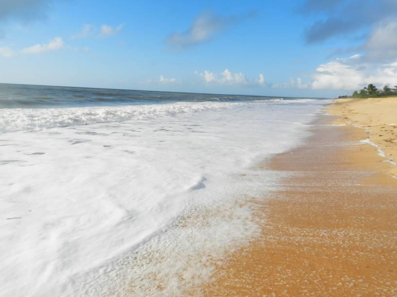 Praia de Caraíva, em Porto Seguro