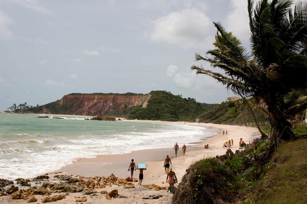 Praia de Tabatinga, na Paraíba, Conde