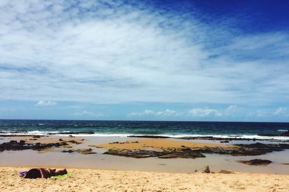 """<strong><a href=""""http://viajeaqui.abril.com.br/estabelecimentos/br-ba-salvador-atracao-do-buracao"""" target=""""_blank"""">Praia do Buracão</a> – <a href=""""http://viajeaqui.abril.com.br/cidades/br-ba-salvador"""" target=""""_blank"""">Salvador (BA)</a></strong>"""