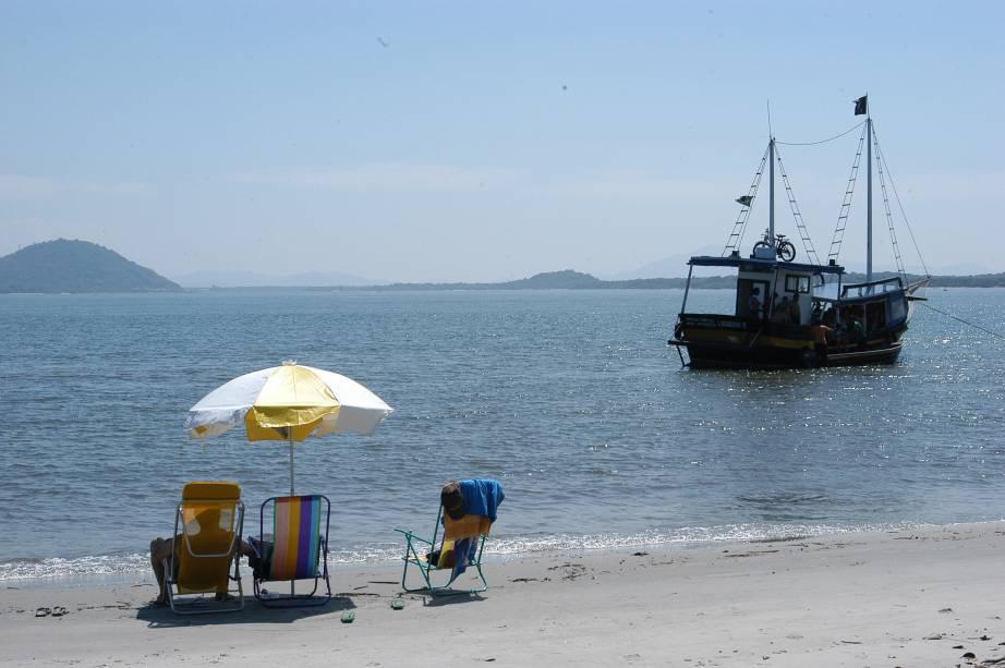 Praia do Parque Estadual da Ilha do Cardoso
