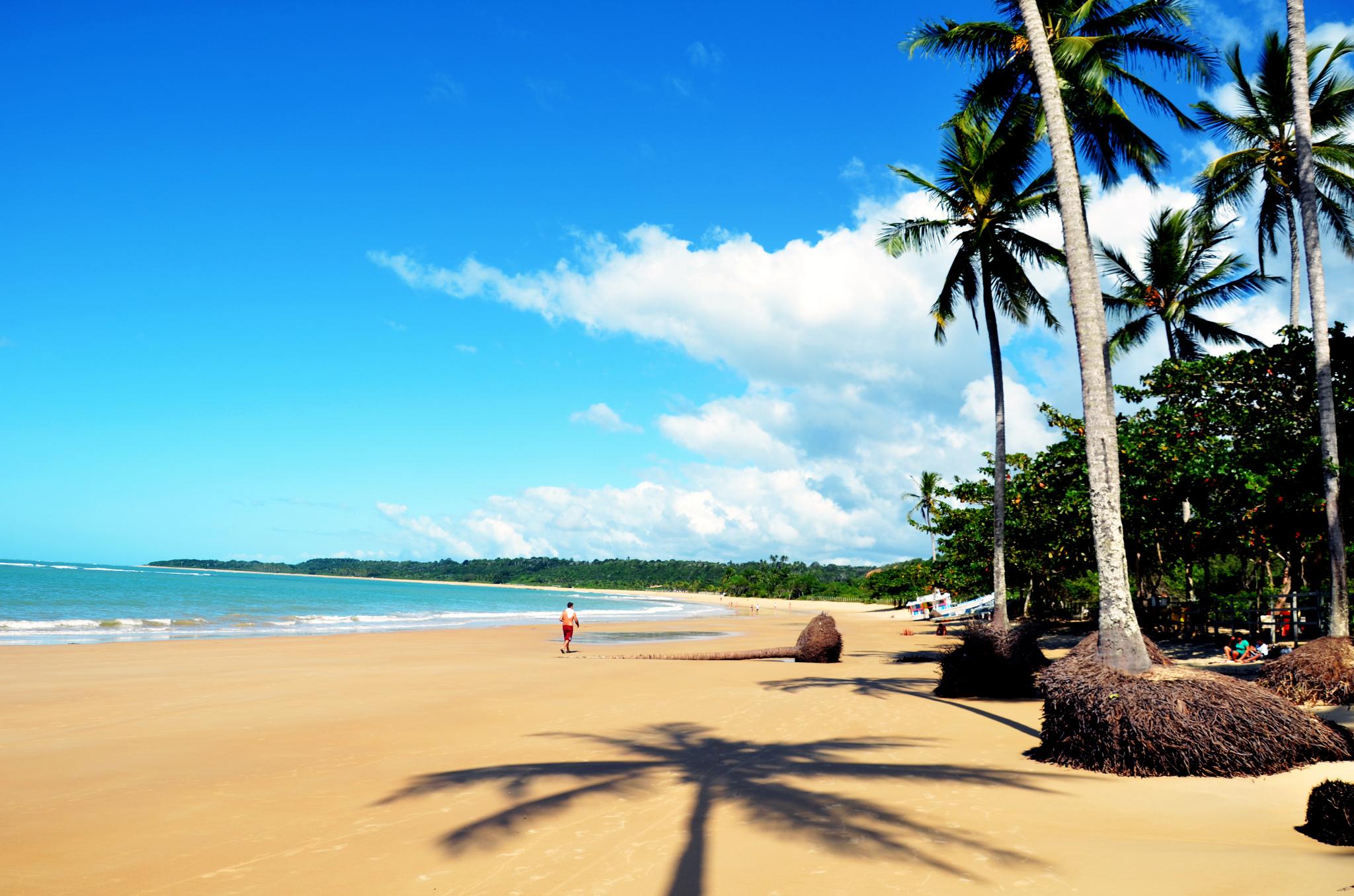 Praia dos Coqueiros, Trancoso, Bahia