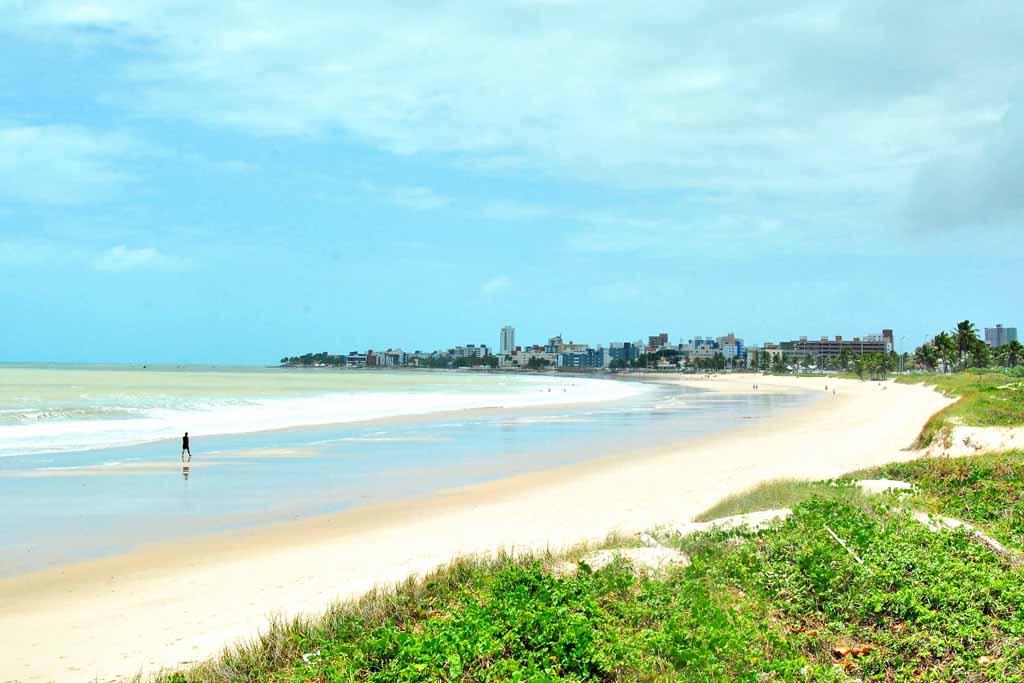 Praia do Bessa, em João Pessoa, na Paraíba
