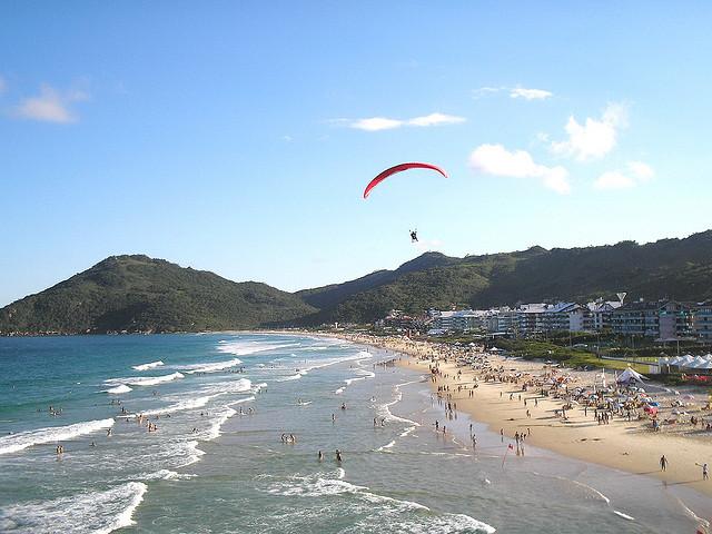 Praia Brava, em Florianópolis