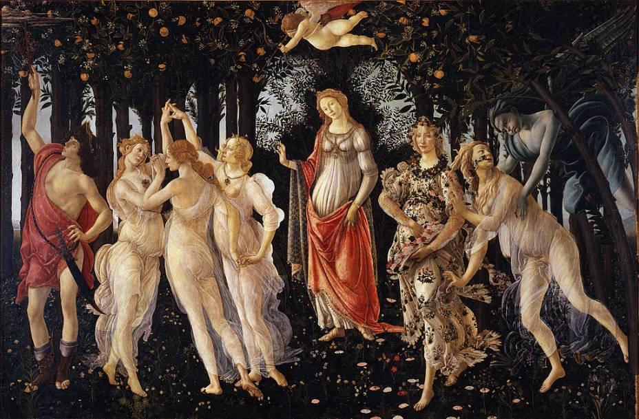 <em>Primavera</em>, de Sandro Botticelli
