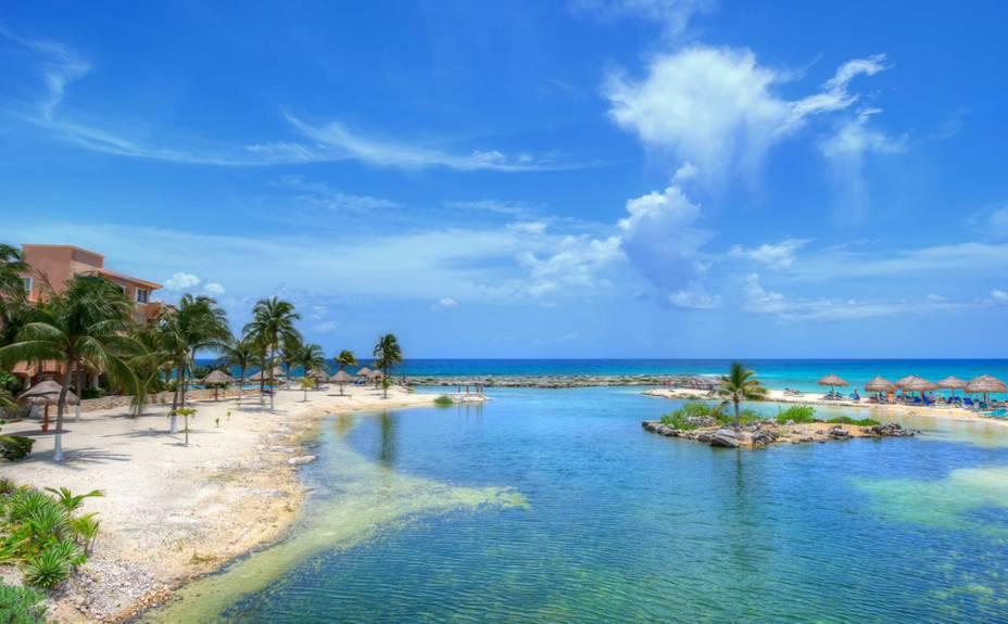 <strong>9. Puerto Aventuras</strong>Exclusividade sem extravagâncias a 18 quilômetros de Playa del Carmen