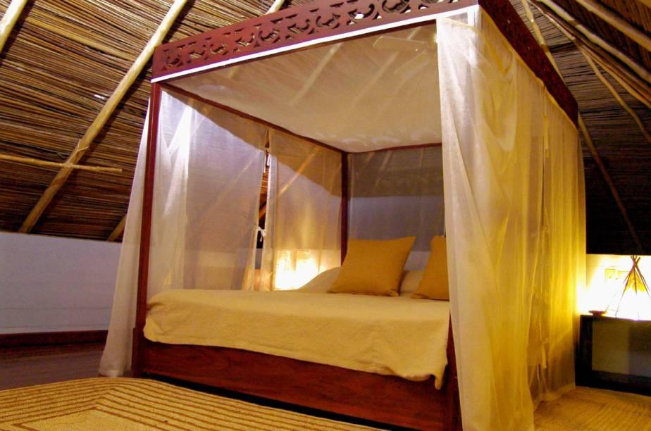 """Quarto do <a href=""""http://www.booking.com/hotel/pa/punta-caracol-acqua-lodge.pt-br.html?aid=332455&label=viagemabril-hoteisflutuantes"""" rel=""""Punta Caracol Acqua Lodge"""" target=""""_blank"""">Punta Caracol Acqua Lodge</a>"""