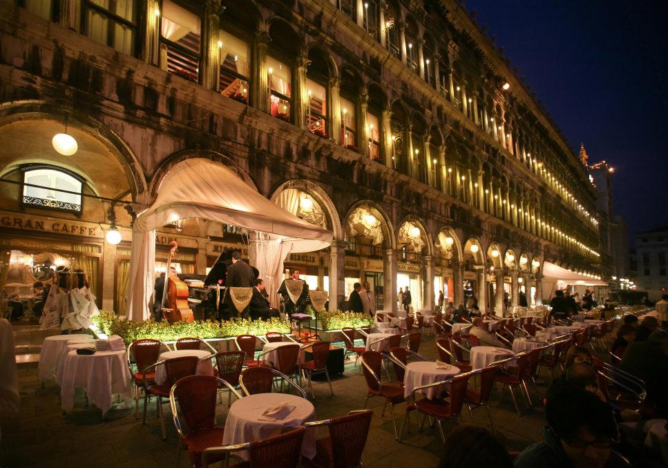Café Quadri, Veneza, Itália
