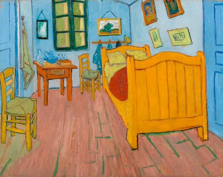 O quarto, de Vincent van Gogh