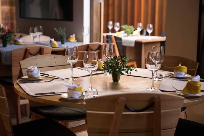 Restaurante Quintal das Letras, na Pousada Literária, em Paraty (RJ)