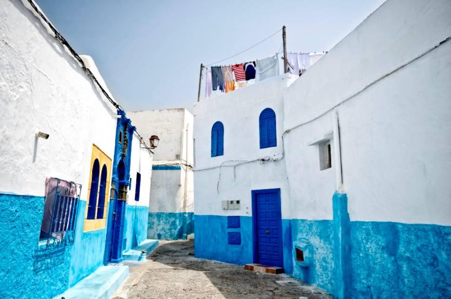Casas típicas de Rabat